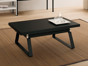 Tavolini alzabili apribili tavoli da salotto tavolini da caff armadi bagni c - Table de salon convertible ...